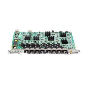 8-Port XG-PON1 subscriber card designed to be used with ZXA10 C300 and ZXA10 C320 equipment. YCICT