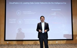 Wang Lei, President of Huawei's Data Center Network Field, released a fully upgraded CloudFabric 2.0 YCICT
