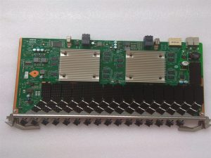 Huawei CSHF Service Board YCICT 16-port XGS-PON and GPON Combo OLT interface