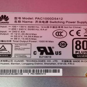 Huawei PAC1000D5412 Power Module YCICT Huawei PAC1000D5412 Power Module PRICE AND SPECS NEW AND ORIGINAL GOOD PRICE